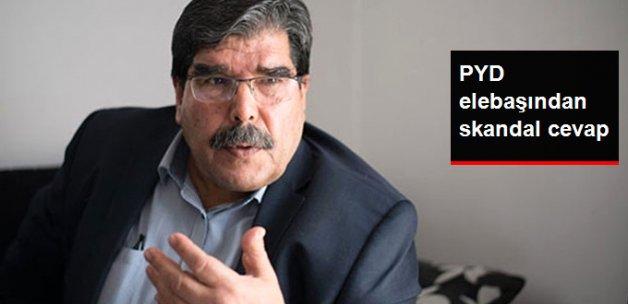 PYD elebaşı Müslim'den Yakalama Kararına Skandal Cevap