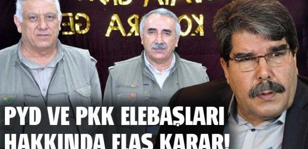 PYD elebaşı Salih Müslim ve 48 terörist hakkında yakalama kararı