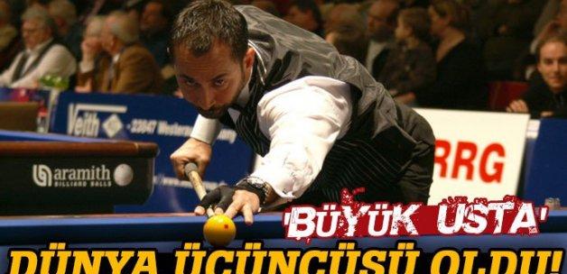Semih Saygıner dünya üçüncüsü oldu!