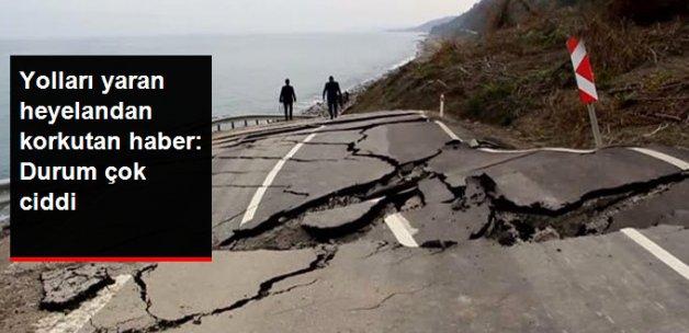 Sinop'ta Yolları Yaran Heyelandan Korkutan Haber: Durum Çok Ciddi