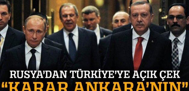 'ŞİÖ konusunda karar Ankara'nın'