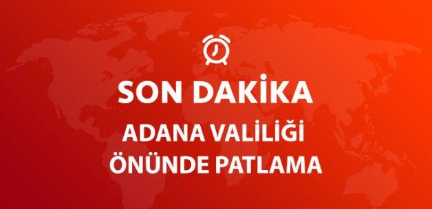 Son Dakika! Adana Valiliği Otoparkında Patlama