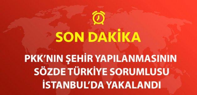 Son Dakika! PKK'nın KCK Sözde Türkiye Sorumlusu İstanbul'da Yakalandı