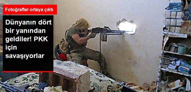 Suriye'de YPG ile Birlikte Savaşan Yabancıların Fotoğraflarını Yayınladılar!