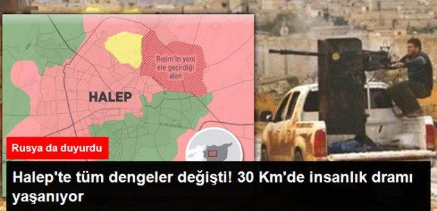 Suriye Ordusu Halep'te Çok Kritik Noktaları Aldı, 30 Km'lik Alanda İnsanlık Dramları Yaşanıyor
