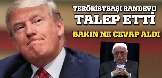 Trump: Terör örgütleriyle aynı masaya oturmam