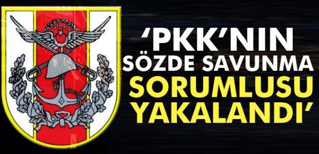 TSK: Bölücü Terör Örgütünün 'Öz Savunma Sorumlusu' Selim Aybar yakalandı