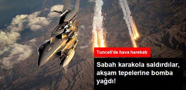 Tunceli'de Hava Destekli Operasyon: 5 PKK'lı Terörist Öldürüldü