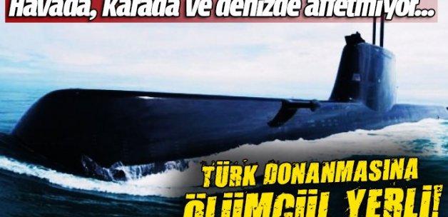 Türk donanmasına ölümcül yerli