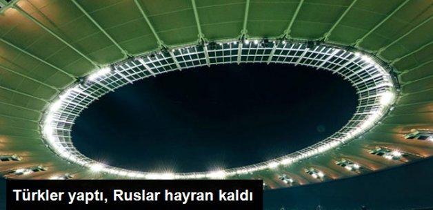 Türk Firmasının Rusya'da İnşa Ettiği Krasnodar Arena, Dikkat Çekiyor