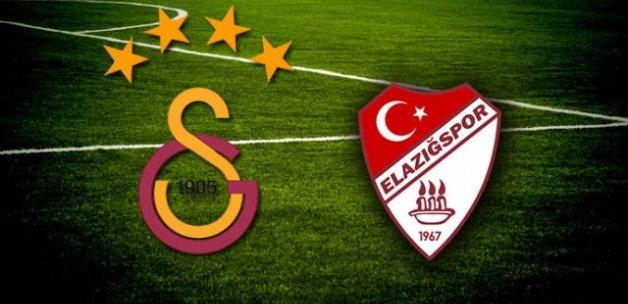 Türkiye Kupası'nda Galatasaray Elazığspor'u ağırlıyor