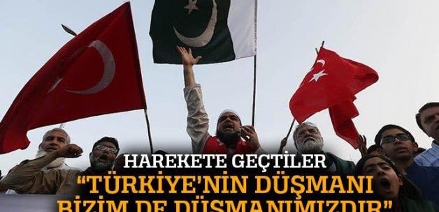 'Türkiye'nin düşmanları Pakistan'ın düşmanlarıdır'