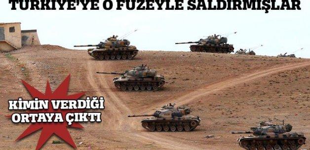 Türkiye'ye saldırdıkları füzeyi o ülke vermiş