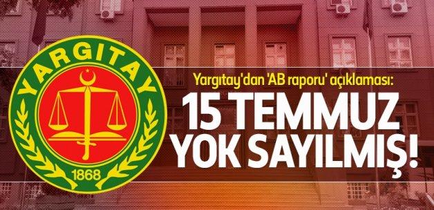 Yargıtaydan AB İlerleme Raporu açıklaması
