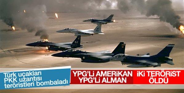 ABD ve Alman uyruklu YPG'liler öldürüldü