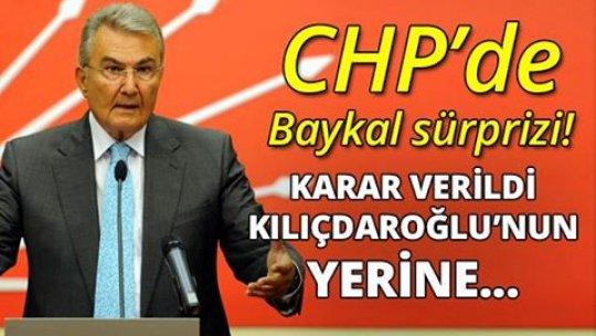 CHP'DE 'BAYKAL' BOMBASI! KILIÇDAROĞLU'NUN YERİNE...