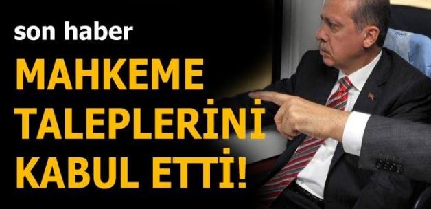 Cumhurbaşkanı Erdoğan ve Başbakan Yıldırım istedi, mahkeme onay verdi!