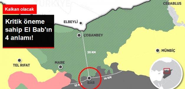 El Bab, Türkiye'nin Güvenliğine 'Kalkan' Olacak