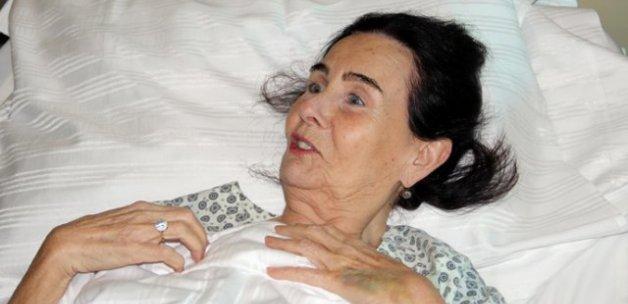 Fatma Girik, yeniden hastanelik oldu