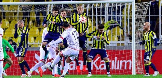 Gençlerbirliği'nden Fenerbahçe'ye soğuk duş