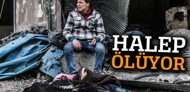 Halep ölüyor