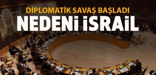 İsrail kararı diplomatik savaş başlattı