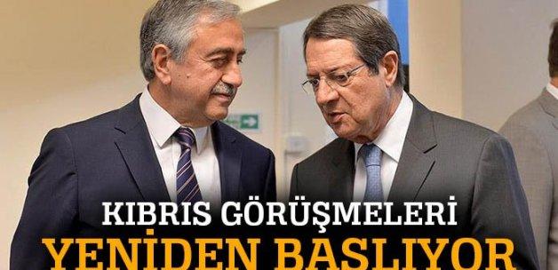 Kıbrıs barış görüşmeleri yeniden başlıyor