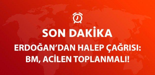 Son Dakika! Cumhurbaşkanı Erdoğan'dan Kritik Halep Çağrısı: