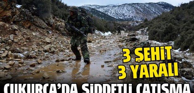 Son Dakika Haberi... Hakkari Çukurca'da çatışma: 3 şehit, 3 yaralı