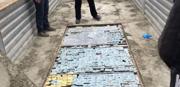 Suriye sınırında 1 buçuk milyon değerinde kaçak ilaç ele geçirildi