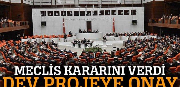 TBMM, Türk Akımı projesini onayladı
