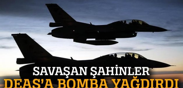 TSK açıkladı: Türk savaş uçakları Suriye'de...