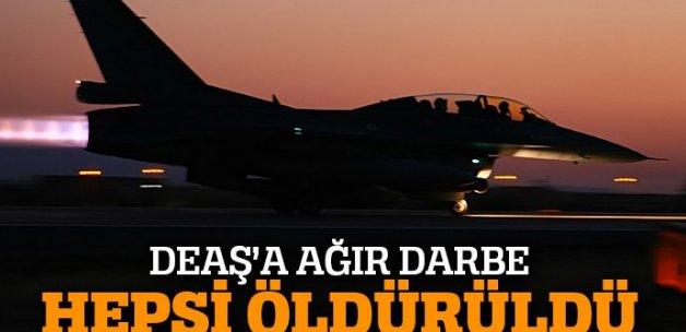 69 DAEŞ'li terörist öldürüldü