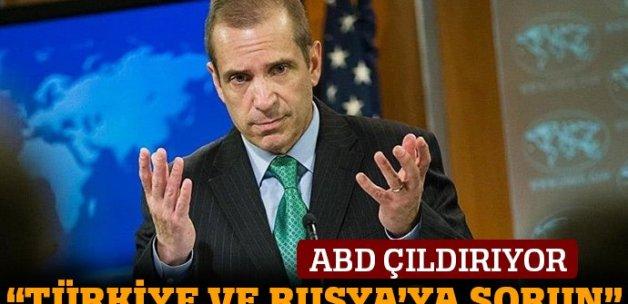 ABD: Astana'ya davet edilmedik, Türkiye ve Rusya'ya sorun