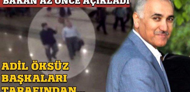 Adalet Bakanı Bekir Bozdağ'dan flaş 'Adil Öksüz' açıklaması
