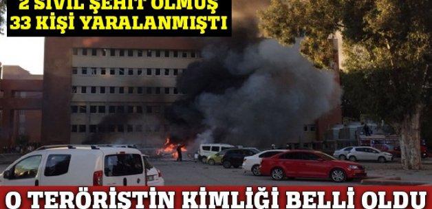 Adana Valiliği binasına saldırıyı gerçekleştiren teröristin kimliği belli oldu