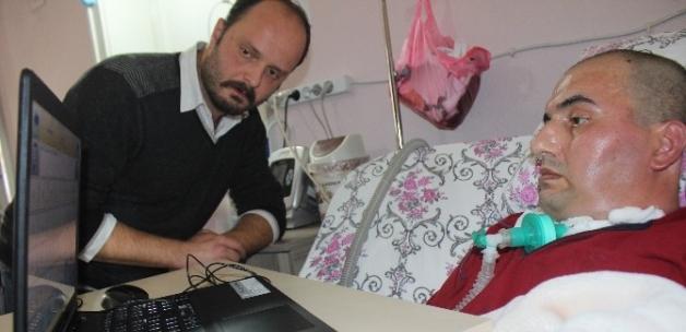 ALS hastası kendisine alınan cihazla derdini anlatabilecek