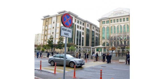 Antalya Adliyesi'nde ilave güvenlik tedbirleri