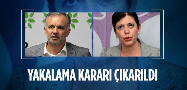 Ayhan Bilgen ve Meral Danış hakkında yakalama kararı