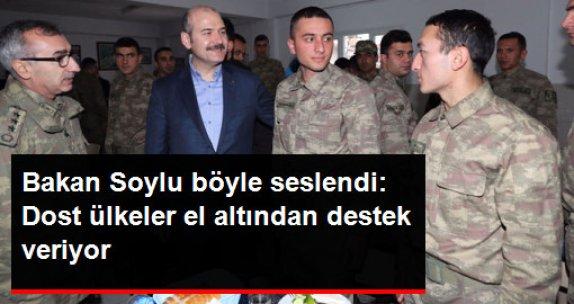 Bakan Soylu: Dost Bildiklerimiz Türkiye'ye Silah Yönetenlere El Altından Destek Vermeye Çalışıyorlar