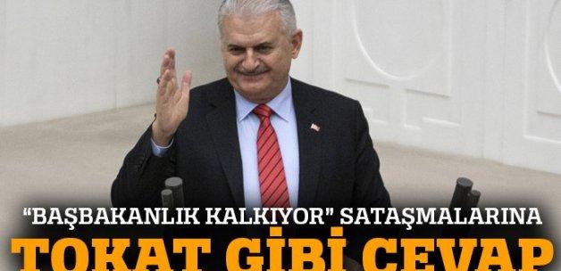 Binali Yıldırım'dan 'başbakanlık' cevabı