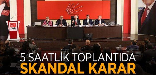 CHP, anayasa değişikliğini görüştü