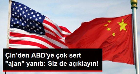 """Çin'den ABD Basınındaki """"Ajan"""" İddialarına Sert Yanıt: Kendi Faaliyetlerini Açıklasınlar!"""