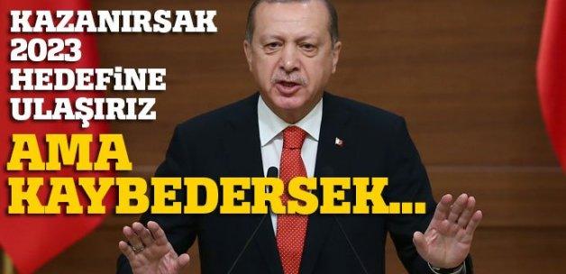 Cumhurbaşkanı Erdoğan: 'Amaç bizi birbirimize düşürmek'