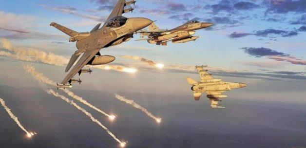 DEAŞ'a ait 15 hedef bombalandı