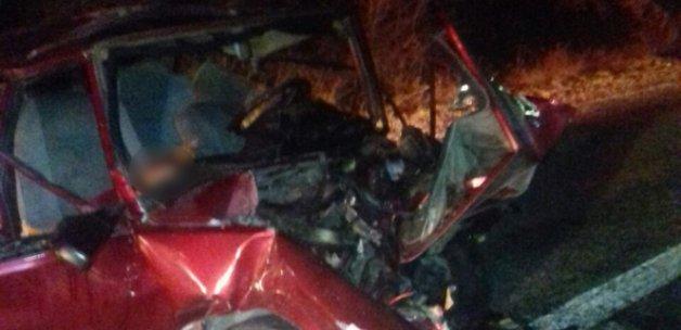 Denizli'de trafik kazası: 3 ölü, 5 yaralı