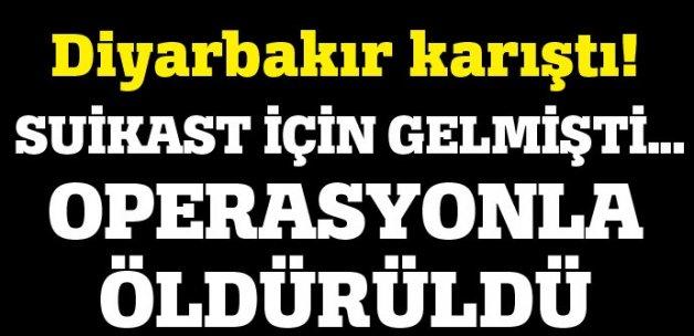 Diyarbakır'da kaymakama suikast için gelen terörist öldürüldü
