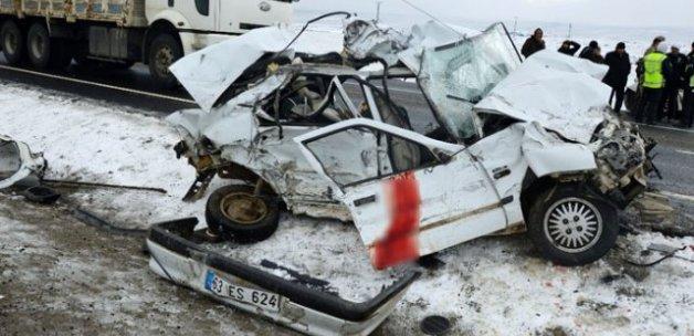 Diyarbakır'da zincirleme kaza: 1 ölü, 6 yaralı