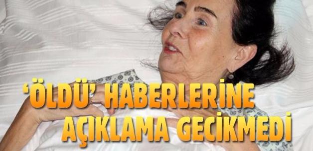 'Fatma Girik öldü' iddialarına gülüp geçti