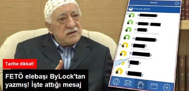 FETÖ Elebaşı Gülen'in ByLock Mesajı Ortaya Çıktı